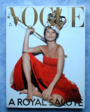 UK Vogue Magazine 2001 December